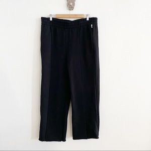 Good American Raw Hem Sweat Pants NWOT